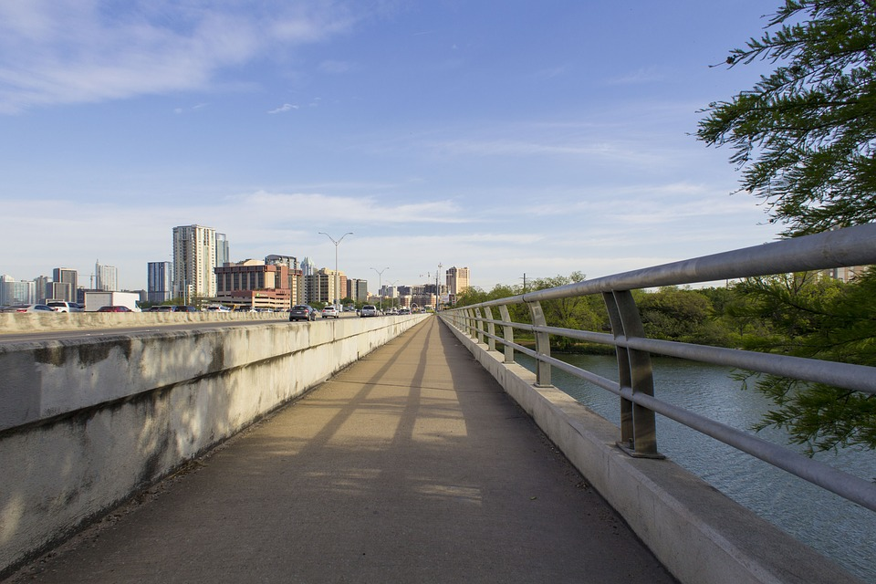 Lady Bird Lake, which is part of the Colorado River, runs through the heart of Central Austin.